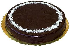 """English: cake """"Garash"""""""