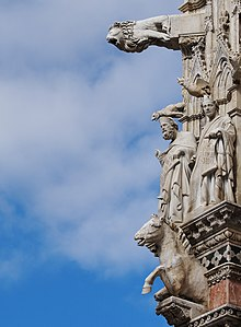 Gargoyles and Saints - Siena Cathedral.jpg