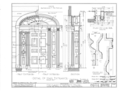 Garry V. Sackett House, West Bayard and Sackett Streets, Seneca Falls, Seneca County, NY HABS NY,50-SENFA,1- (sheet 6 of 11).png