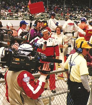 Gary Gerould - Gary Gerould at the 1997 Indianapolis 500