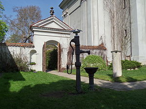 Camaldolese Church, Warsaw - Hermitage Gate, Camaldolese Church, Warsaw