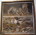 Gatto che azzanna pollo, anatre, pesci, uccelli e conchiglie, da casa del fauno a pompei, 9994, 01.JPG