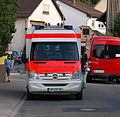 Gauangelloch - Rettungsdienst Mercedes-Benz Deutsches Rotes Kreuz HD RK 85.JPG