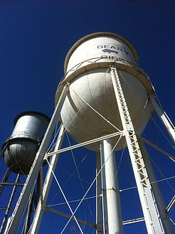 Geary water tower.JPG