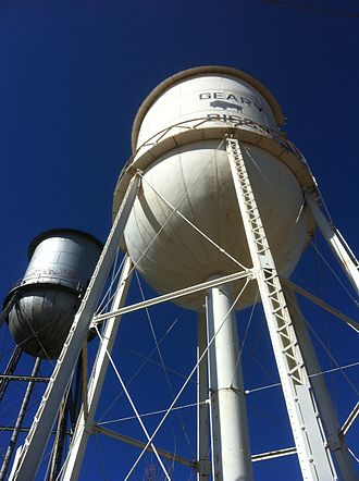 Geary, Oklahoma - Geary water tower