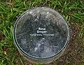 Gedenkstätte im Schulpark Amstetten, Rosa Greger.jpg