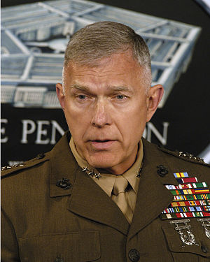 James T. Conway - Conway responding to questions at a Pentagon briefing, June 2005