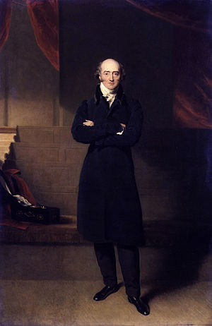 George Canning - Canning by Richard Evans, circa 1825