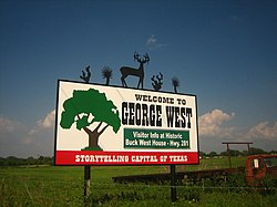 George West, Texas.