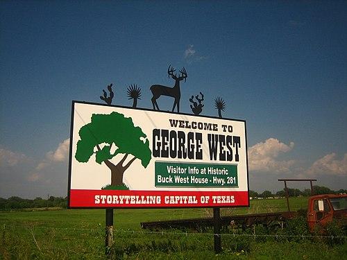 George West mailbbox