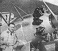 Gerhard Fieseler, akrobatický mistr světa 1934 se svým Tigrem osazeným motorem Pollux II.jpg