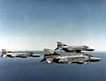 German F-4F ICE Phantoms in flight 1990s.jpg