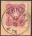 German Reich 1875 Mi33 WERDEN.jpg