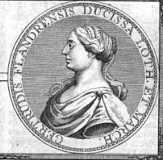 Gertrude of Flanders, Duchess of Lorraine - Image: Gertrude of Flanders