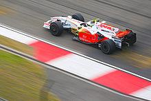 Fisichella su Force India VJM01 al Gran Premio di Cina 2008