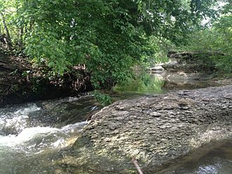 Pflugerville, Texas - Gilleland Creek
