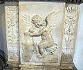 Giovan battista bregno, altare del corpus domini, 1505, 07 angelo.JPG
