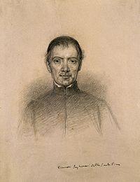 Giovanni Inghirami. Pencil drawing by C. E. Liverati, 1841. Wellcome V0003020.jpg