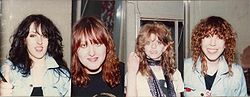 Girlschool 1981
