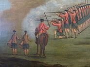 Glasgow Green, c.1758 (Black Watch) detail 2