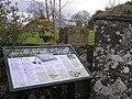 Glenmullin ErrigleOld Church site, Plaque - geograph.org.uk - 741761.jpg