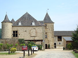 The chateau of Goès