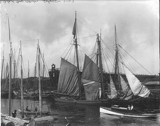 Glace Bay - Schooners, Glace Bay, 1914