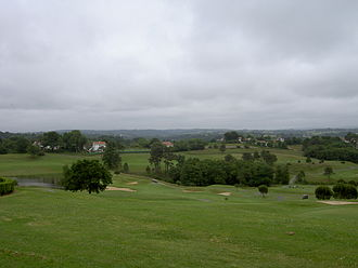 Arcangues - Golf course at Arcangues