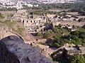 Golkunda fort- fortifications.jpg