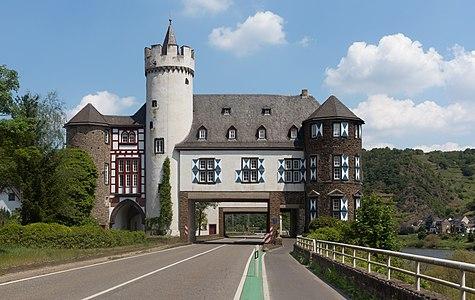 Schloss Gondorf, der Oberburg