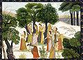 Gopis searching for Krishna, Bhagavata Purana, c1780.jpg