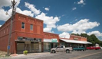 Gordon, Texas - Downtown Gordon.