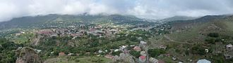 Syunik Province - The town of Goris among the mountains of Zangezur