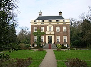 Joan Huydecoper II - The mansion Goudestein in Maarssen, owned by the family Huydecoper