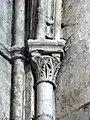 Gournay-en-Bray (76), collégiale St-Hildevert, chœur, chapiteau dans l'angle nord-est.jpg