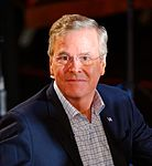 Governor of Florida Jeb Bush, Announcement Tour and Town Hall, Adams Opera House, Derry, New Hampshire by Michael Vadon 10 (Cropped).jpg