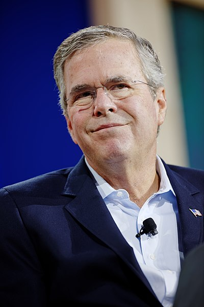 File:Governor of Florida Jeb Bush at New Hampshire Education Summit The Seventy-Four August 19th, 2015 by Michael Vadon 03.jpg