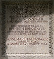 Grabstätte Firma Brenzinger - Dr. Heinrich Brenzinger - Ehrenbürger Freiburg.jpg