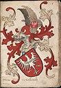 Graeue van Aerenberch - Graaf van Arnsberg - Count of Arnsberg - Wapenboek Nassau-Vianden - KB 1900 A 016, folium 05r.jpg