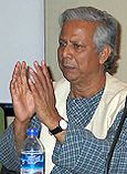 Muhammad Yunus, founder of wGrameen Bank