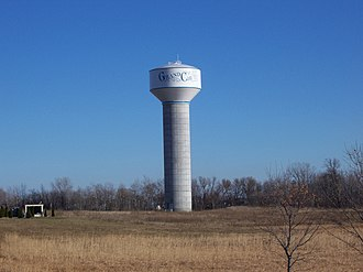 Grand Chute, Wisconsin - Image: Grand Chute Wisconsin Water Tower