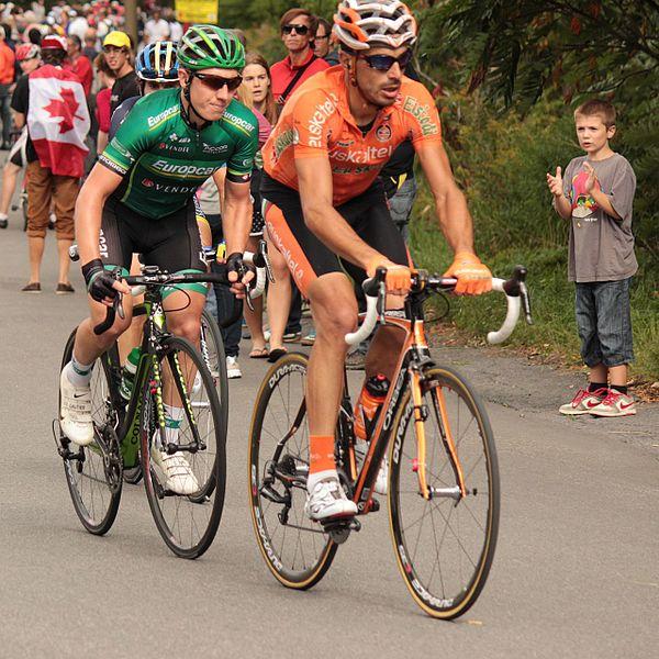 File:Grand Prix Cycliste de Montréal 2012, Cyril Gautier & Egoi Martinez (7994436848).jpg