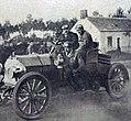 Grand Prix de l'ACF 1906, les journalistes de La Vie au Grand Air couvrent l'épreuve.jpg