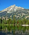 Grand Teton Peak from Jenny Lake (15064134018).jpg