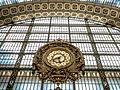 Grande Horloge intérieure de la Gare d'Orsay, Paris mai 2015 002.jpg