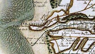 Granville, Manche - Granville on the Cassini map