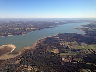 Grapevine Lake - Grapevine Lake from the southwest