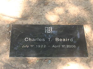 Charles T. Beaird - Grave of Charles T. Beaird in Forest Park Cemetery