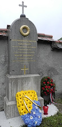 Grave of Jernej Kopitar at Navje park in Ljubljana, Slovenia.jpg