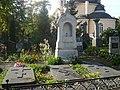 Graves of Daragan Family in the Euphrosyne Cemetery in Vilnius.JPG